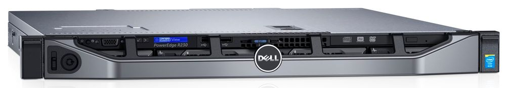 Стоечный сервер PowerEdge R230