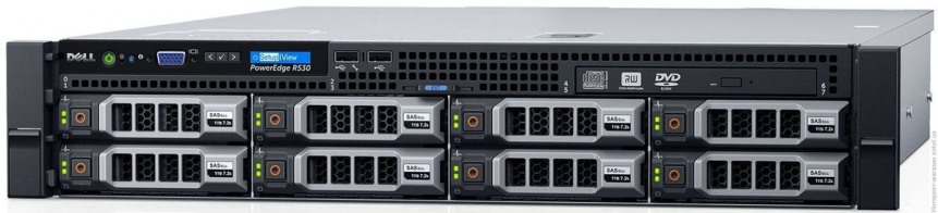 Стоечный сервер PowerEdge R530